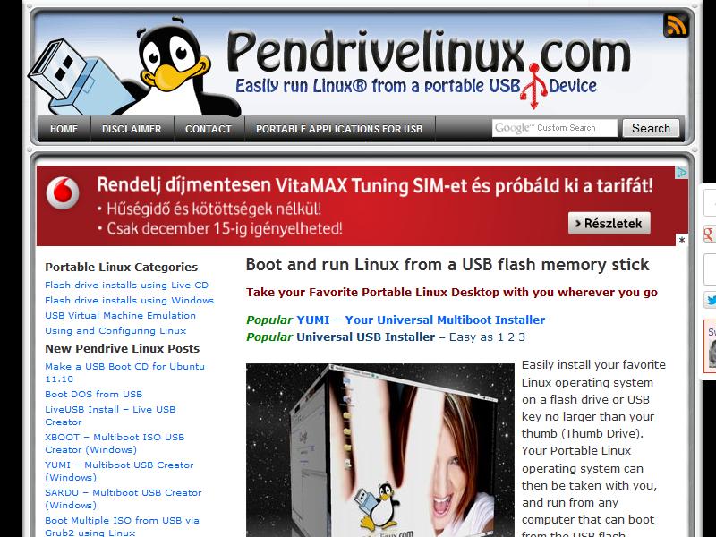 Pendrivelinux
