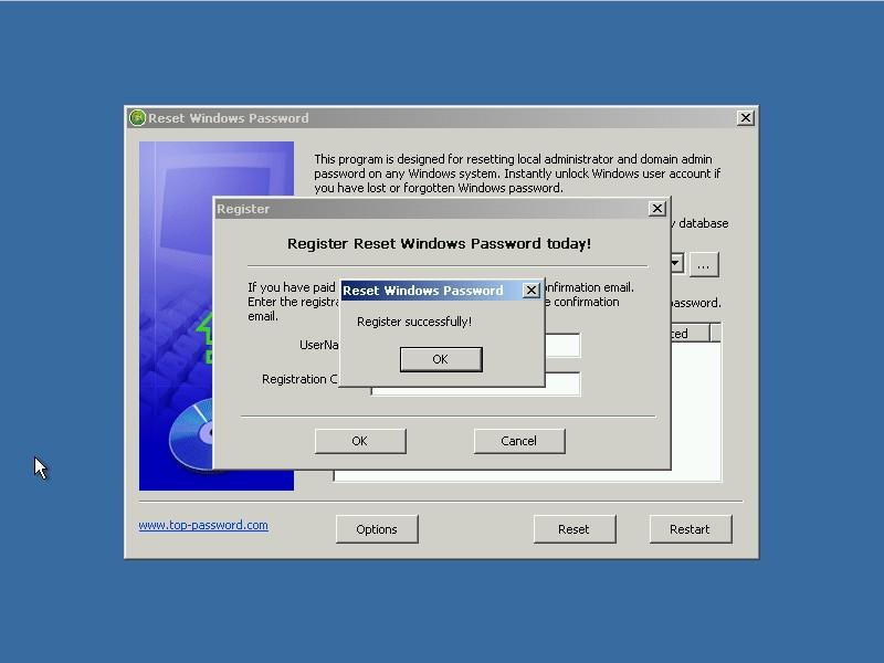 Windows 7 elfelejtett jelszó...