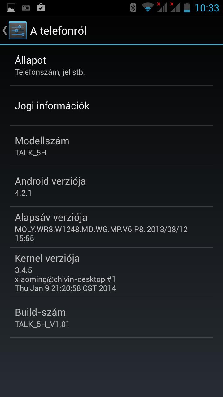 Wayteq Talk 5H Dual SIM