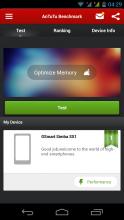 Gigabyte GSmart Simba SX1 - Antutu Benchmark