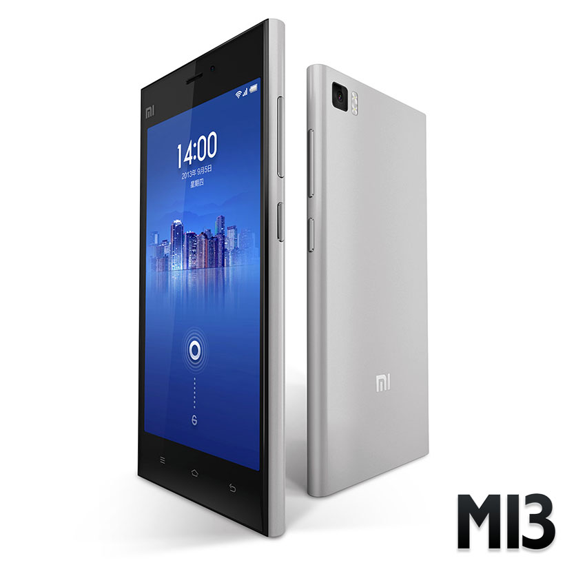 Xiaomi MI3 - Ezüst - 16GB