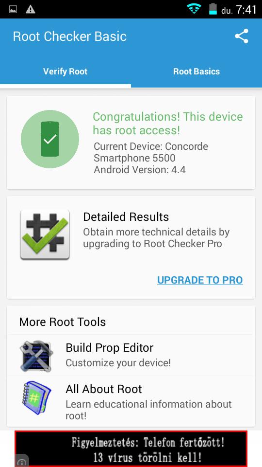 ConCorde 5500 - root
