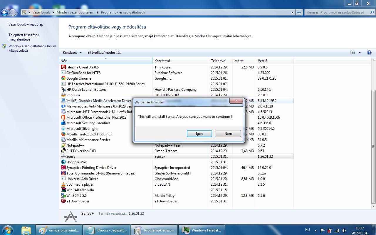 Omiga-plus.com /malware/ - uninstall