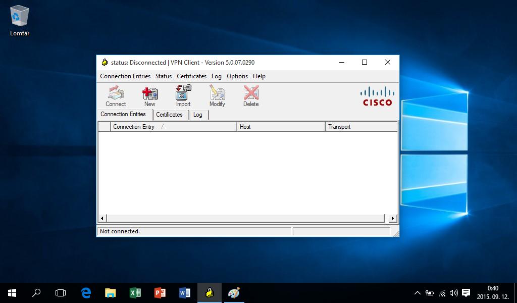 Cisco VPN Client install - Error 27850 - Windows 10