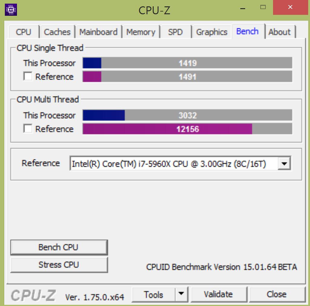 Dell XPS13 CPU-Z - www.itfroccs.hu