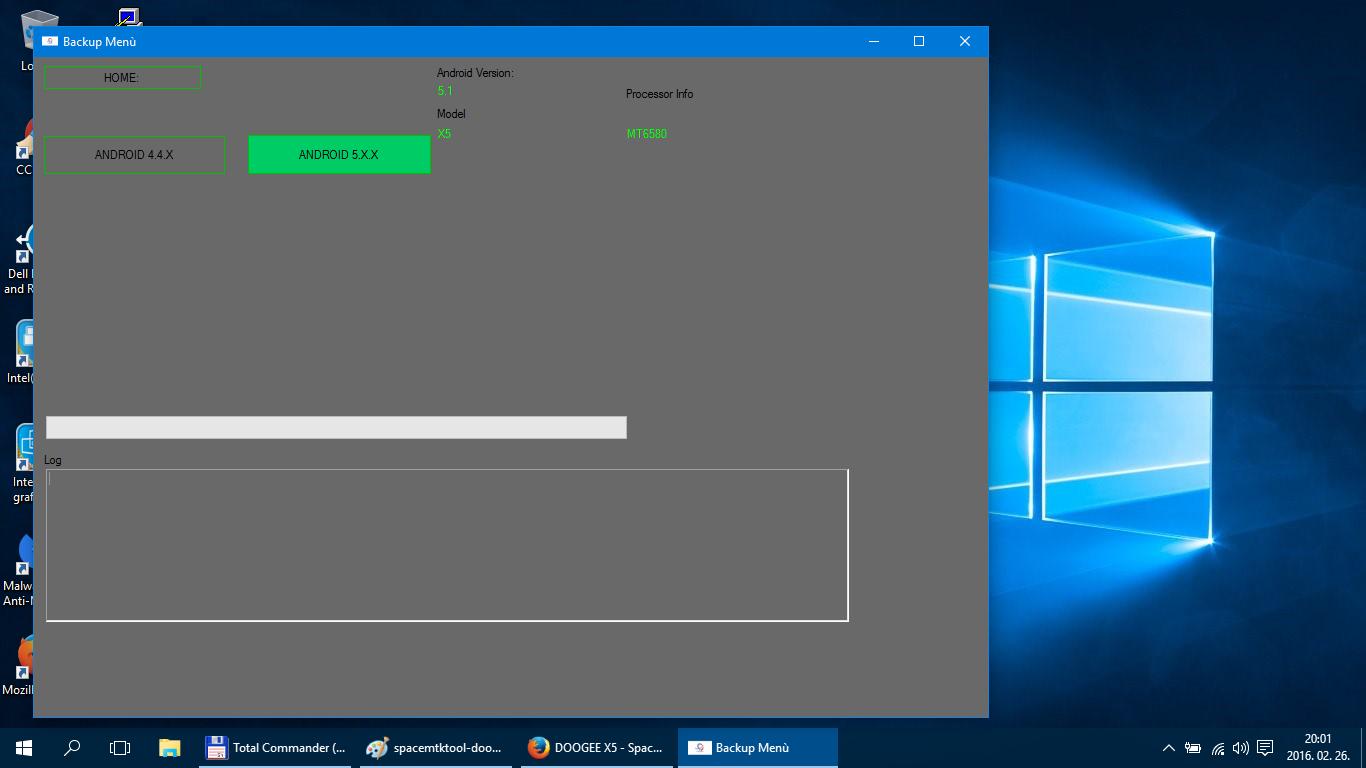 DOOGEE X5 - Space Media Tek Toolkit - Backup - SP Flash tool - TWRP
