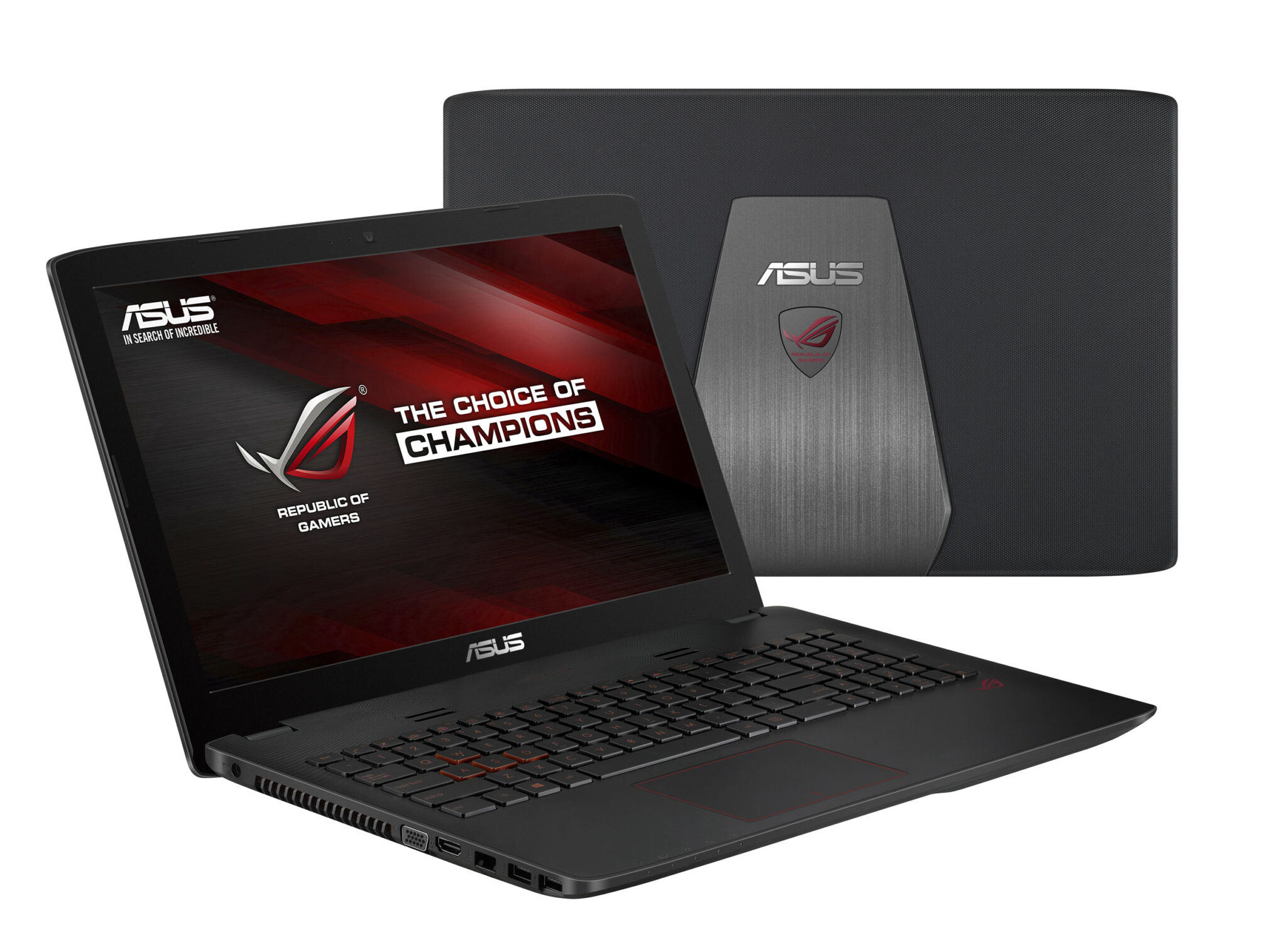 ASUS ROG GL552JX Gaming Notebook