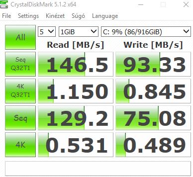 Dell Inspiron 24 7459 All in One CrystalDiskMark Test Toshiba 1TB HDD MQ01ABD100 - www.itfroccs.hu