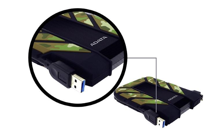 """ADATA HD710M 2,5"""" 1TB külső merevlemez leejtés és vízbe merítés teszt"""
