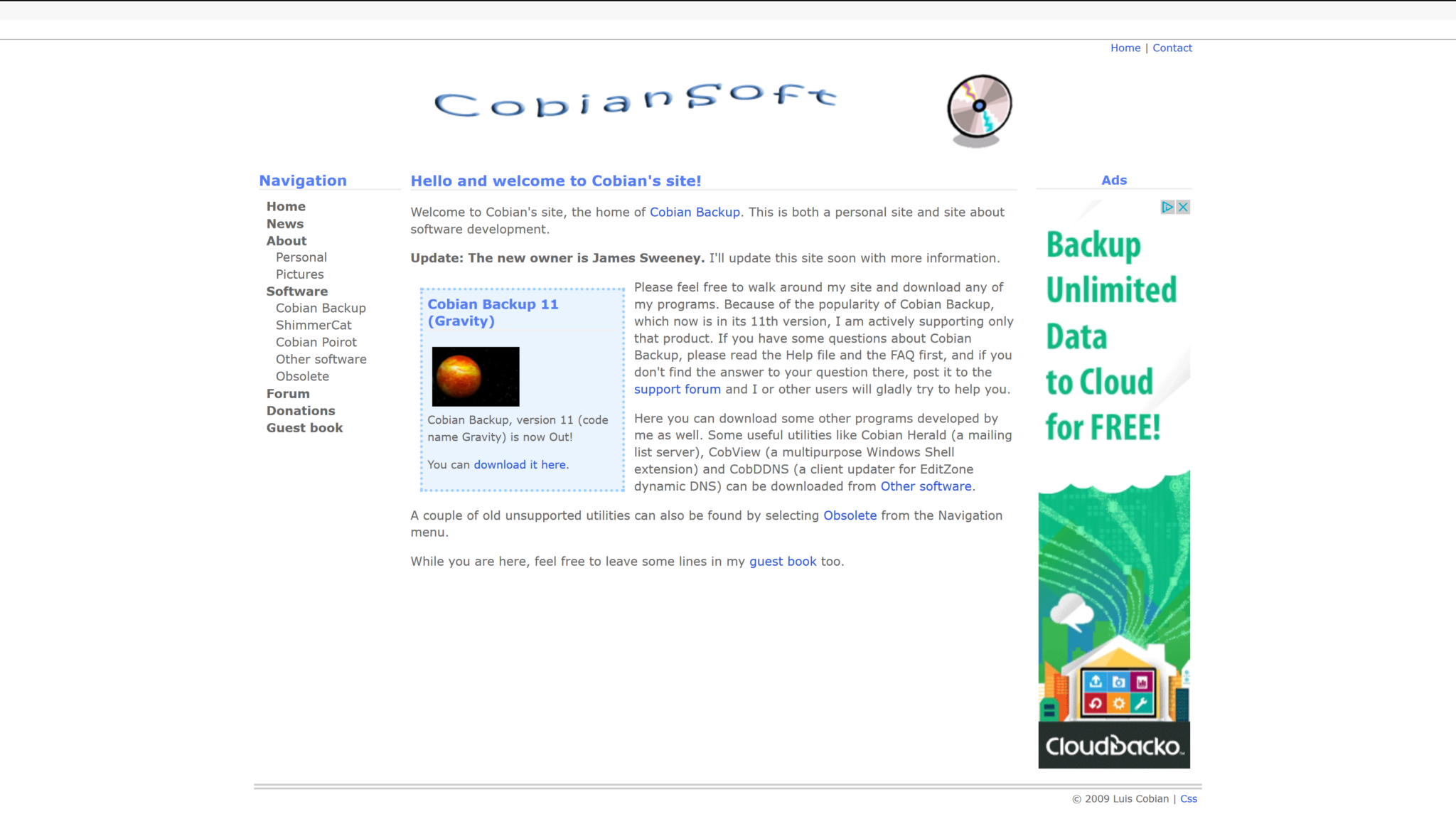 Cobian Backup 11 (Gravity)