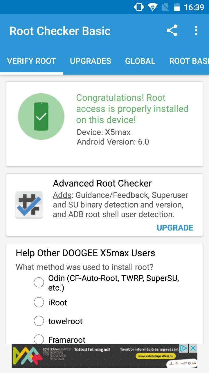 DOOGEE X5 MAX - TWRP - Root