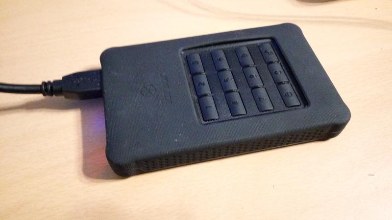 """ICY BOX IB-289U3 2.5"""" SATA 3.0 külső HDD keret erős AES 256-bites hardveres kódolással"""