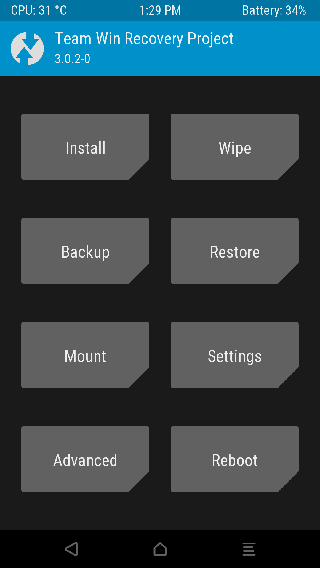 Xiaomi Redmi Note 2 - TWRP - Root