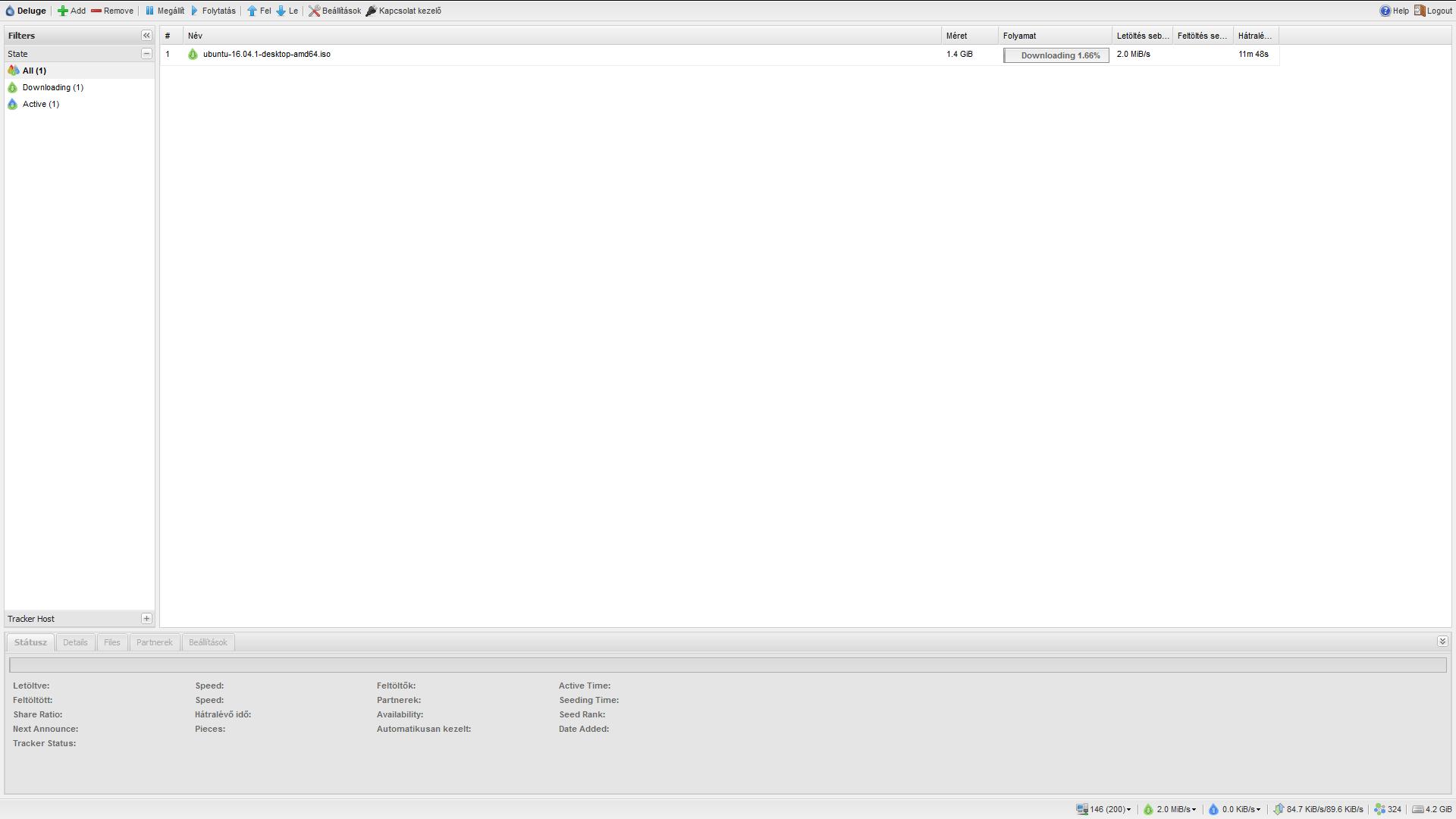 Ubuntu 16.04LTS [SERVER] Webmin Install + Deluge torrent Install [WEBUI]