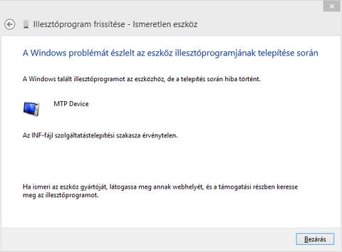Mit tegyél, ha a telefonodat nem ismeri fel a Windows!?