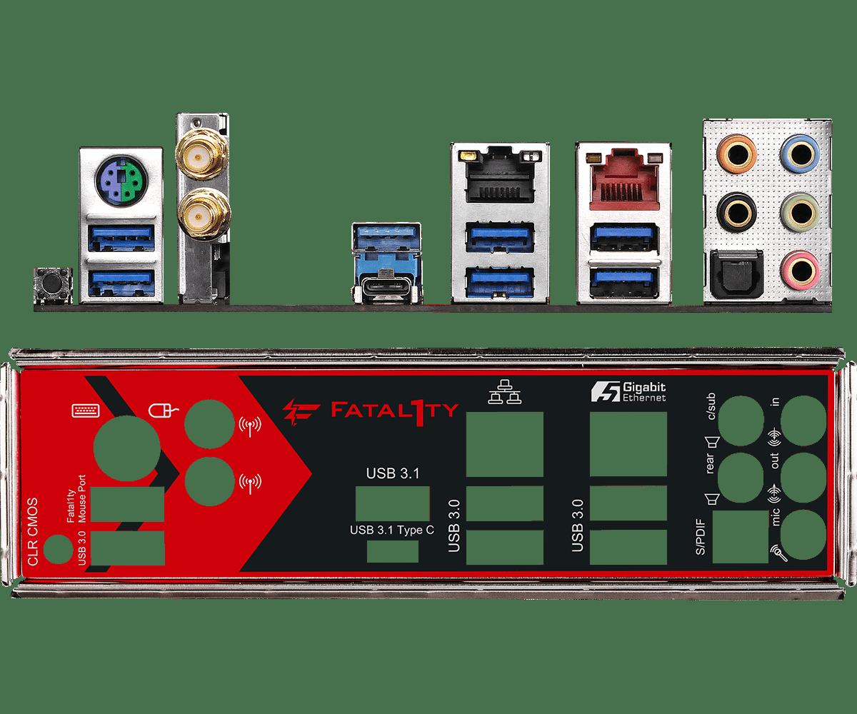 AsRock Fatal1ty X370 Professional Gaming alaplap bemutató