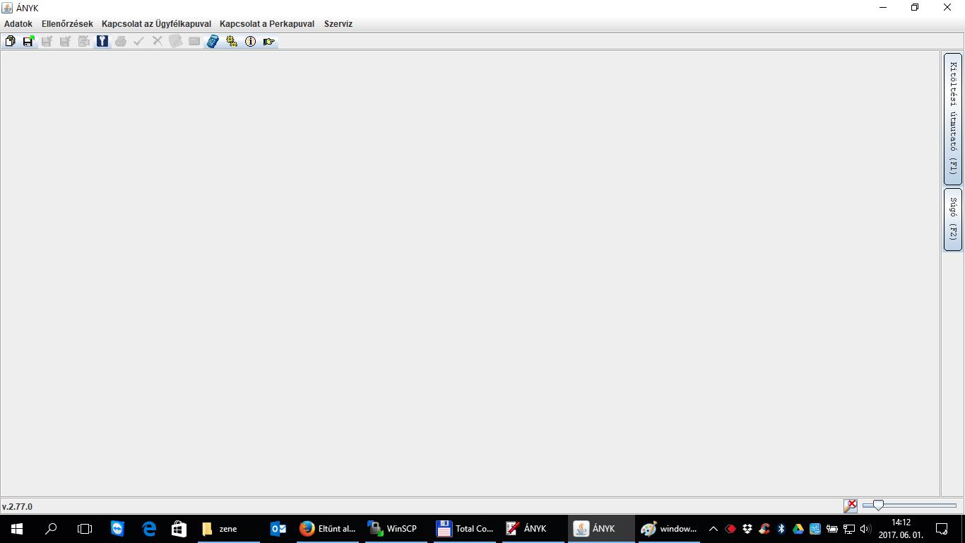 Eltűnt alkalmazások a képernyőről és WINDOWS+JOBBRA vagy WINDOWS+BALRA