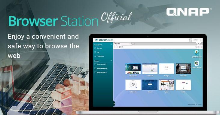 QNAP hivatalosan is bejelentette a Browser Station-t, amely továbbfejlesztett internetes böngészési élményt biztosít