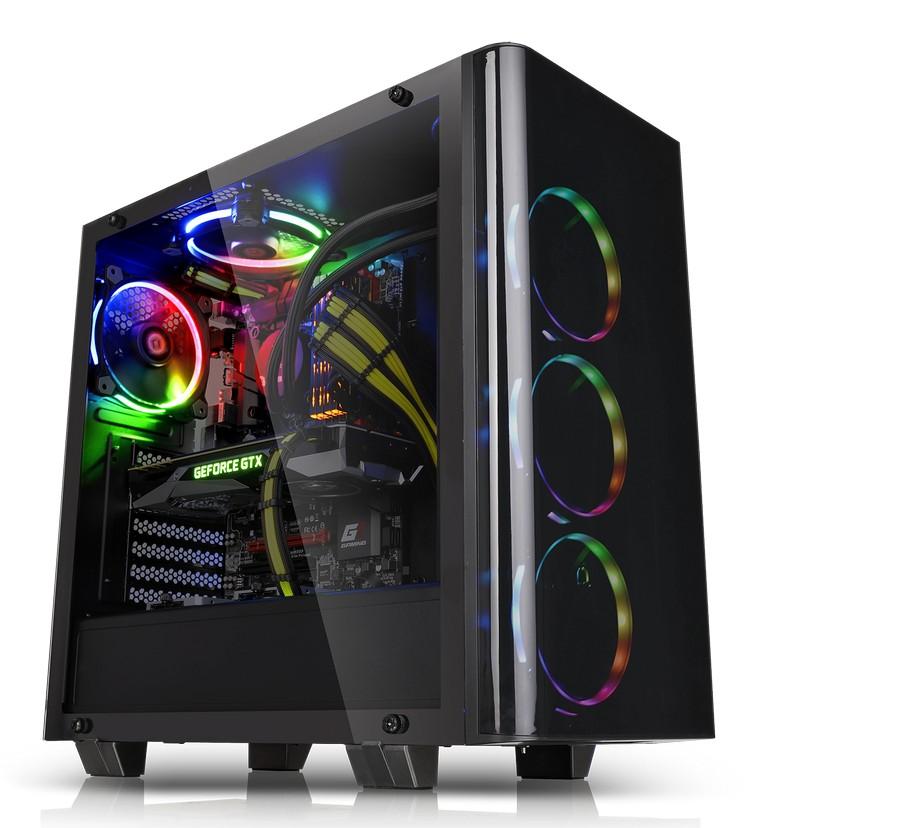 A Thermaltake bejelenti az új View 21 Tempered Glass Edition közepes méretű számítógépházat
