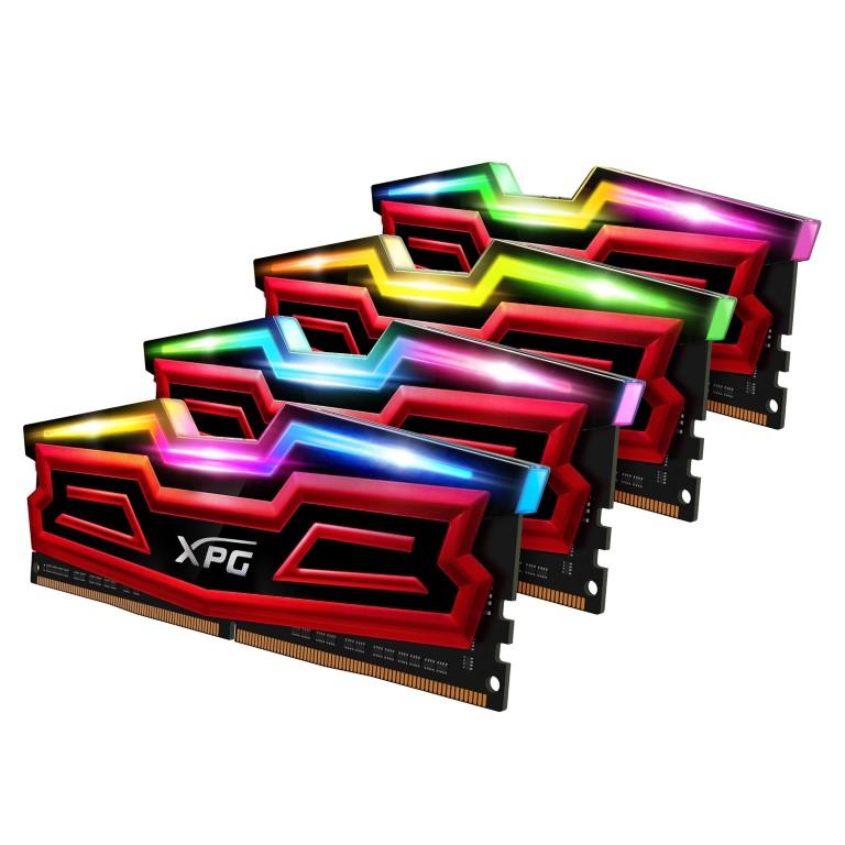 ADATA bemutatja az XPG SPECTRIX D40 RGB DDR4 memóriát