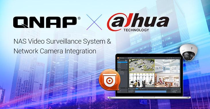 A QNAP integrálja a Dahua Technology hálózati kameráit a felügyeleti rendszerek bővíthetőségéért