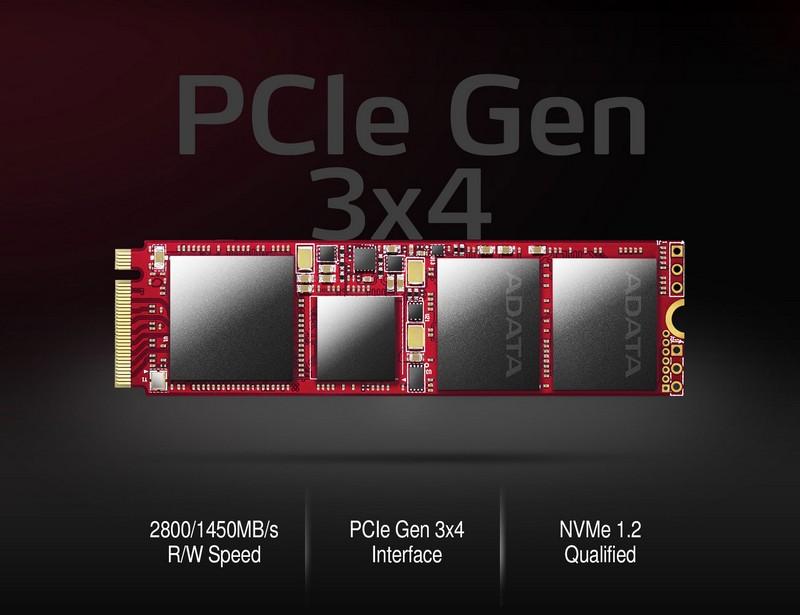 Az ADATA bemutatja az XPG SX9000 PCIe Gen3x4 NVMe 1.2 SSD-t