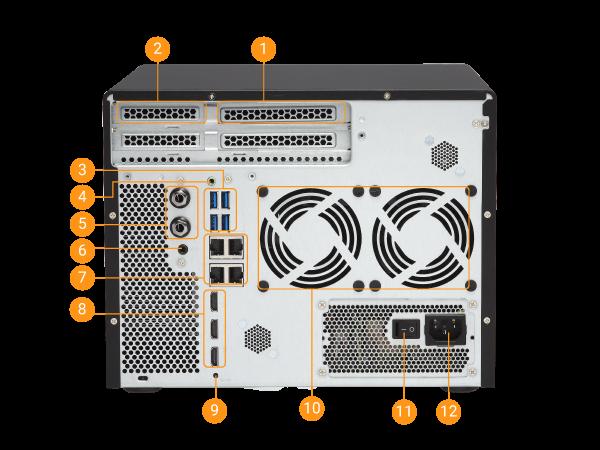 QNAP TVS-882 8 fiókos Turbo vNAS bemutató - Ha brutális teljesítmény kell!
