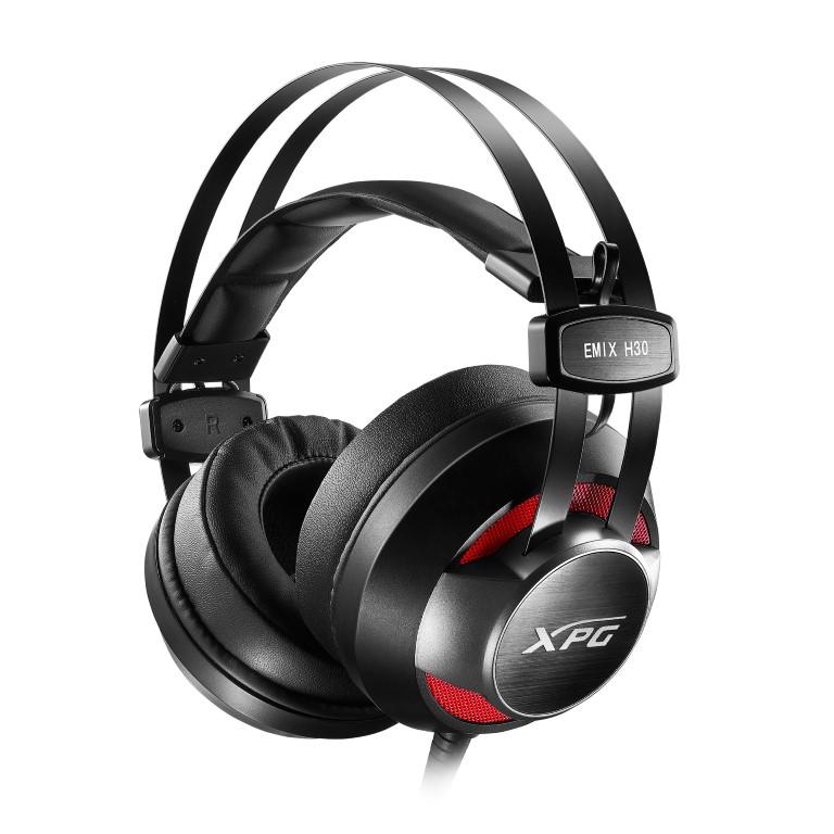 ADATA bemutatja az XPG EMIX H30 és I30 fej- és fülhallgatókat, valamint a SOLOX F30 erősítőt