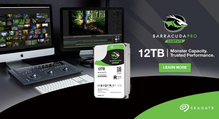 A Seagate kibővíti a Guardian Series termékcsaládját az új 12TB-os NAS és asztali gépekbe szánt meghajtókkal