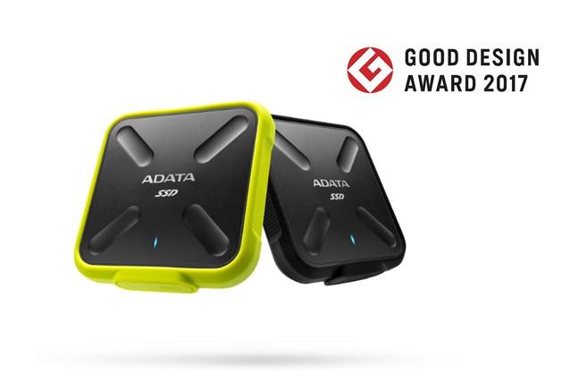 Bemutatjuk az ADATA SD700 külső SSD-t a Good Design Award 2017 nyertesét