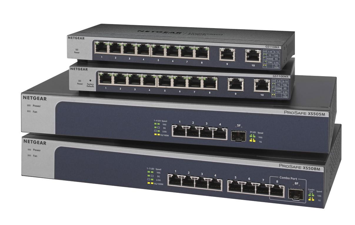A NETGEAR új innovációt jelent be a multigigabit switch technológiával