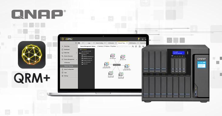 A QNAP hivatalosan is bejelentette a QRM+ a hálózati eszközöket központilag menedzselő alkalmazást