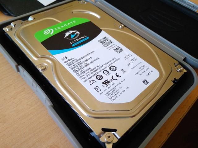 SEAGATE Skyhawk 4TB-os merevlemez leállítás nélküli, folyamatos használatra - www.itfroccs.hu