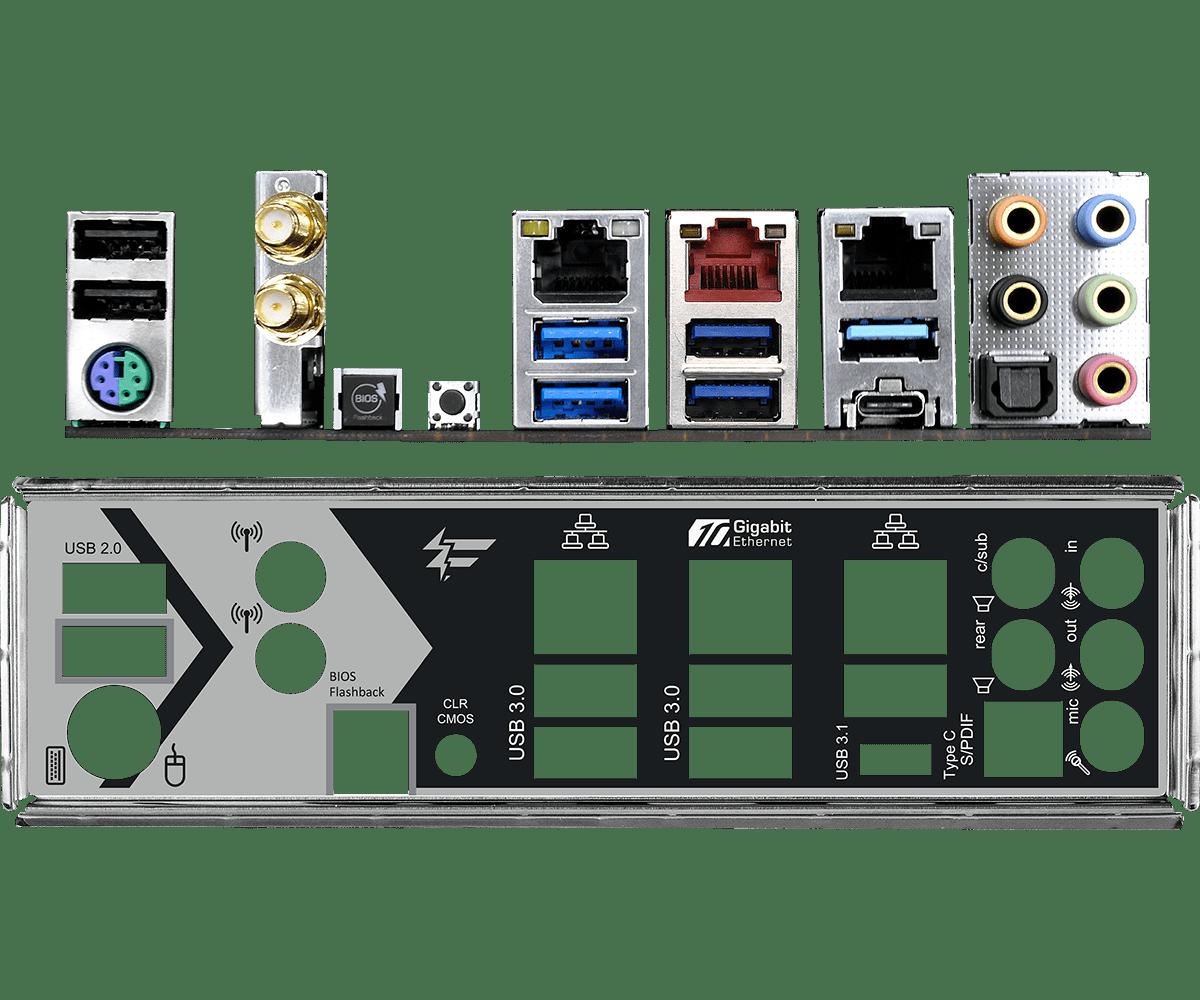 Asrock Fatal1ty X299 Professional Gaming i9 ALAPLAP bemutató