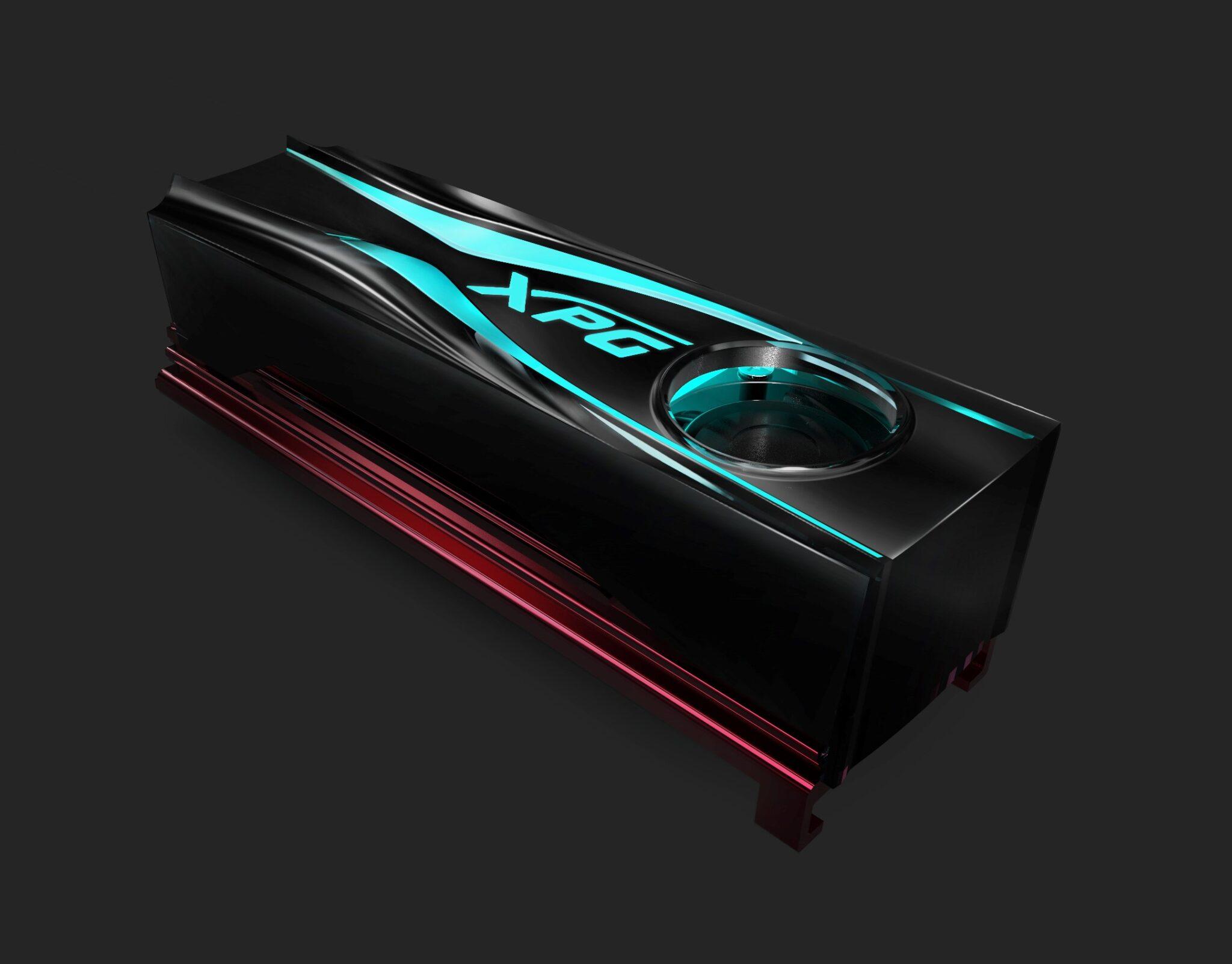 Az ADATA bemutatja az XPG STORM RGB M.2 2280 aktív hűtést