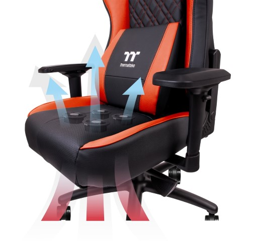 A Tt eSPORTS bemutatja a világ első léghűtéses professzionális gaming székét az X COMFORT AIR-t
