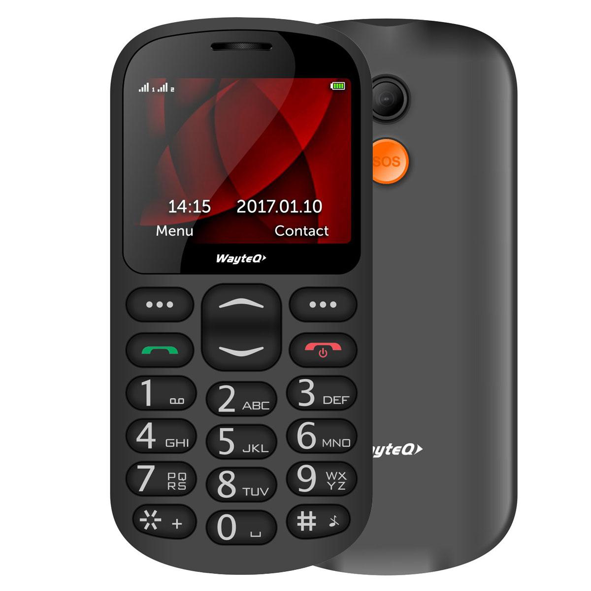 WayteQ SP-1 Senior phone + dokkoló
