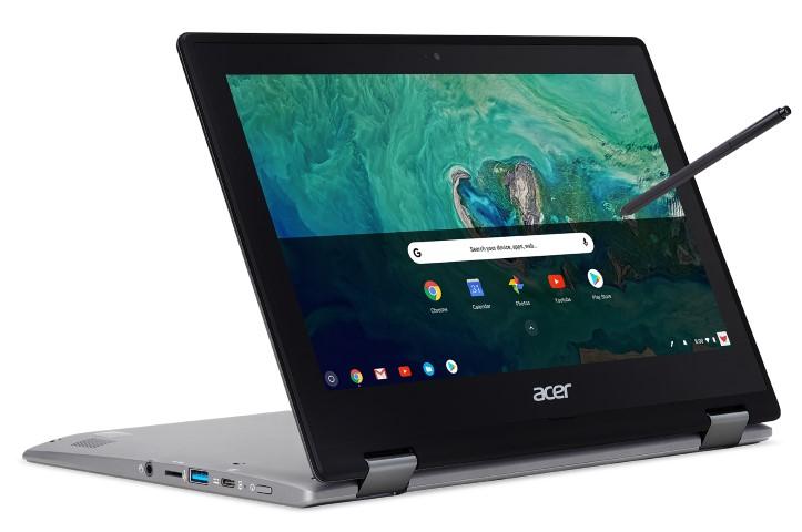 Az Acer bemutatja stílusos átalakítható laptopját az Acer Chromebook Spin 11-et