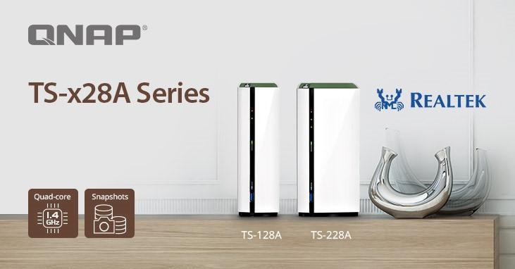 QNAP bemutatta a TS-x28A termékcsaládot pillanatkép támogatással és teljes multimédiás szolgáltatással az otthoni felhasználóknak