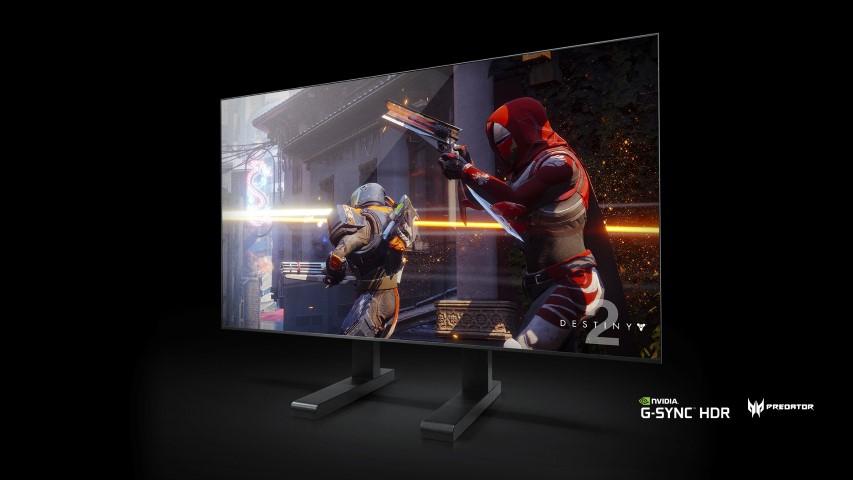 Az Acer bemutatja a 65 hüvelykes Predator Big Format Gaming Display (BFGD) monitort NVIDIA G-SYNC funkcióval