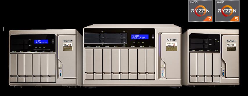 A QNAP bemutatja a vQTS-t: először a TS-x77 Ryzen™ NAS-on érhető el a virtuális QTS rendszer