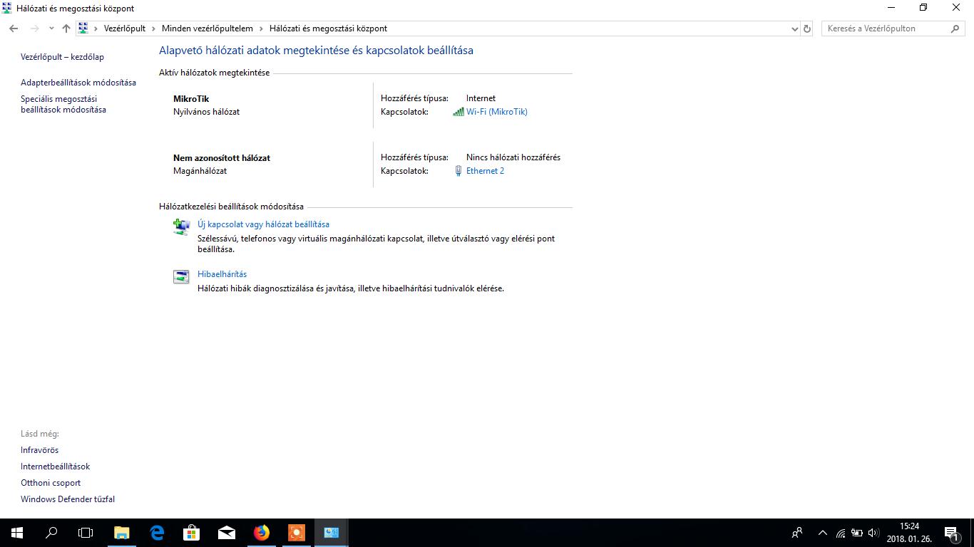 Microsoft Windows 10 hálózati profil váltás egyszerűen