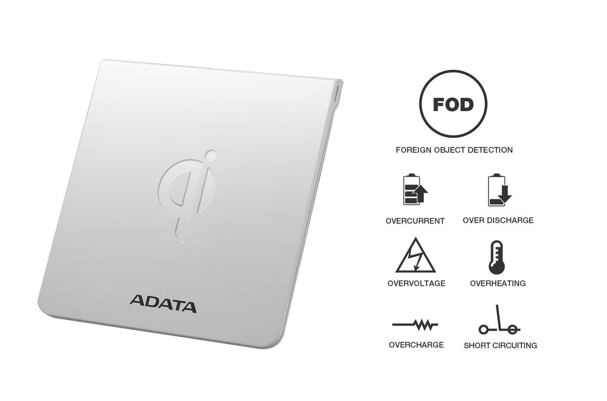 Bemutatkozik a CW0050 vezeték nélküli töltőpad az ADATA-tól - www.itfroccs.hu