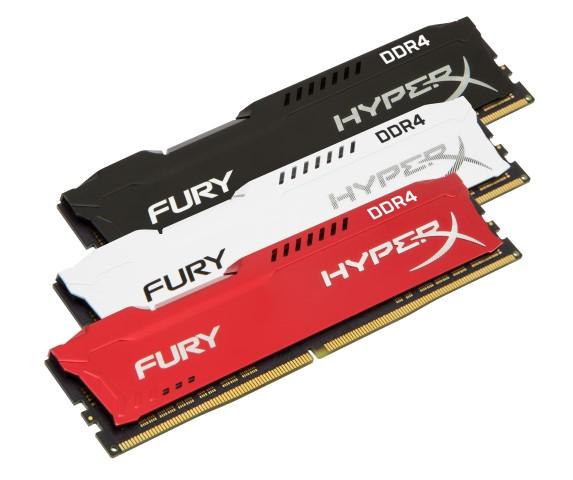 A HyperX magasabb frekvenciájú modulokkal bővíti FURY és Impact DDR4 memóriáit