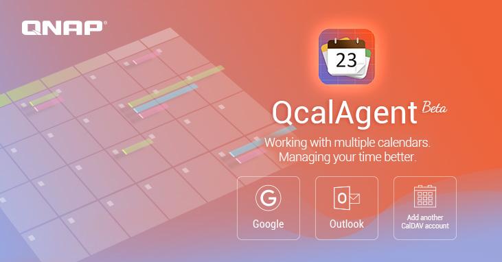 A QNAP bemutatja a QcalAgent applikációt, amivel központilag menedzselhetjük naptárainkat, valamint megoszthatjuk azokat