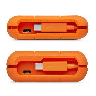 LaciE Rugged Thunderbolt USB-C 500GB-os külső SSD kipróbálás