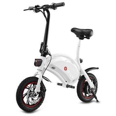 F - wheel DYU Electric Bike - WHITE
