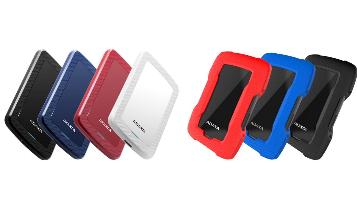 Az ADATA bemutatta a HV300 és a HD330 külső merevlemezeket