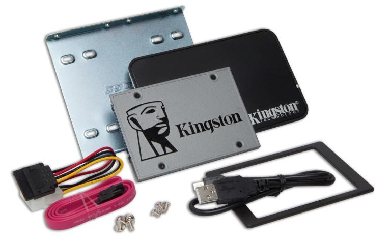 UV500: a Kingston bemutatja első titkosított SSD-jét