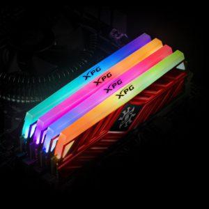 Az ADATA bemutatja az XPG SPECTRIX D41 DDR4 RGB memóriákat